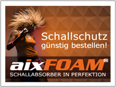 aixFOAM Schallabsorber